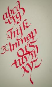 ruční písmo
