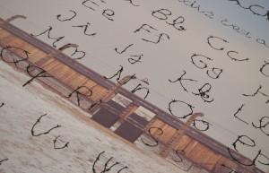 plakát autorská abeceda detail